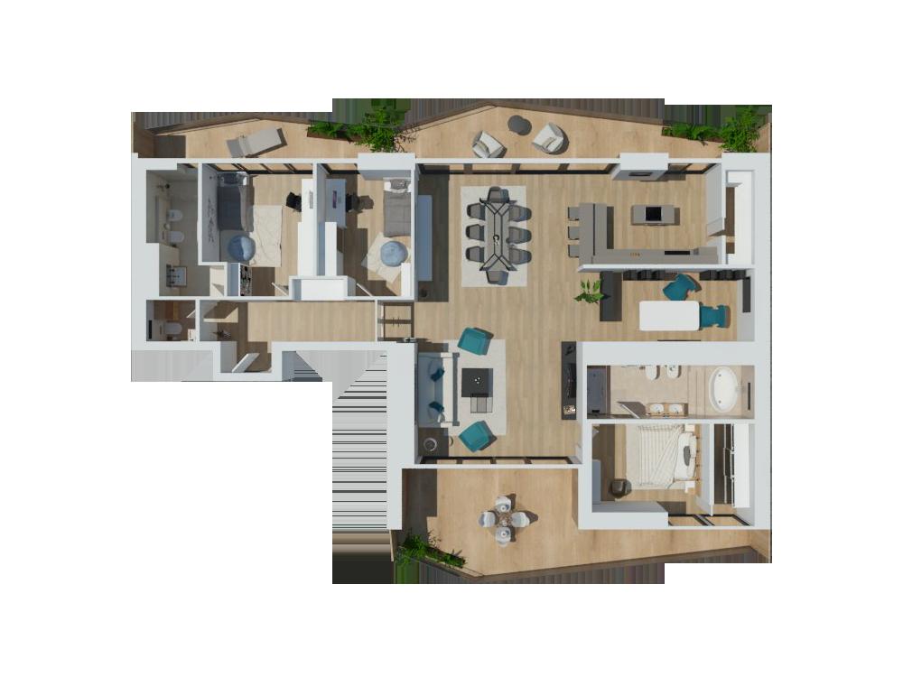 apartment c<br />178,90 <sup>m2</sup>